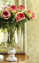 Iný materiál - Umelé ruže - 10268685_