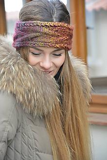 Ozdoby do vlasov - Barevná melír - 10269360_
