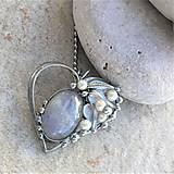Náhrdelníky - ALBERTO Heart náhrdelník - 10268947_