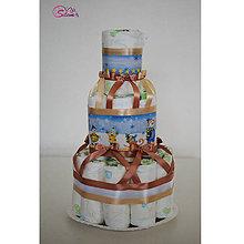 Detské doplnky - Plienková torta 6 - 10269143_