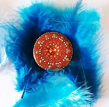 "Kľúčenky - Mandala "" blahobytu,, (Mandala magnetka) - 10269506_"