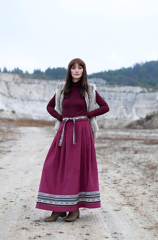 Sukne -  etno - skirt - 10268520_