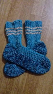 Obuv - ponožky  veľ.42-43 (42-43 tyrkysové) - 10269185_