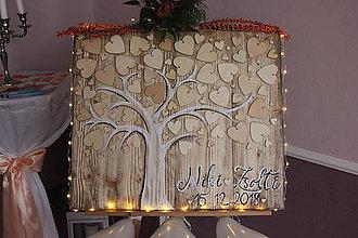 Dekorácie - Strom prianí pre novomanželov - 10269540_