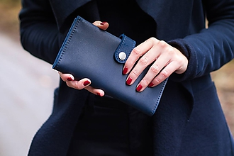 Peňaženky - Kožená peněženka Moneta Magna - 10268148_
