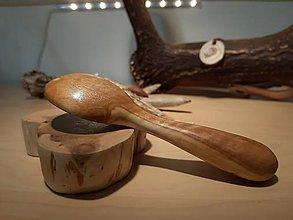 Pomôcky - Drevená lyžička z olivy - 10268602_