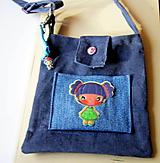 Detské tašky - Kabelka s kľúčenkou  - 10268777_