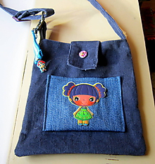 Detské tašky - Kabelka s kľúčenkou - 10268778_