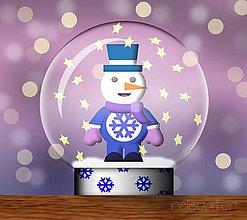 Grafika - Snežítko(grafika) vločkové - 10268409_