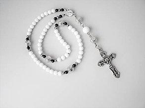 Iné šperky - RUŽENEC - JADEIT biely - 10270538_