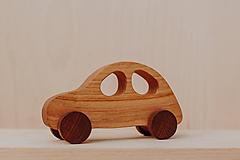 Hračky - Drevené autičko  - 10271168_