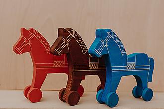 Hračky - Drevený koník - 10270729_