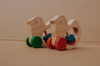 Hračky - Hrkálka holub - 10271137_