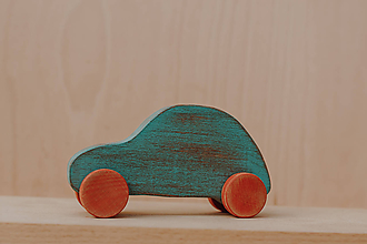 Hračky - Patinované autičko - 10271191_