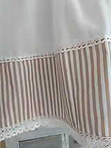 Úžitkový textil - Záclonka  pásiky - 10270372_