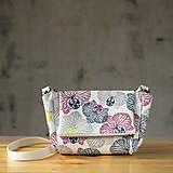 Kabelky - CUTE bag - farebná celoplošná potlač - 10270898_
