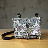 - DINKY bag - čierno biela potlač, pozitív - negatív - 10271012_