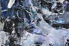 Obrazy - °spomienky° /abstraktná maľba A2/ - 10271182_