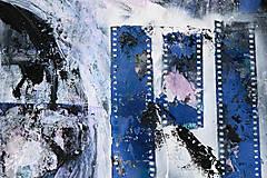 Obrazy - °spomienky° /abstraktná maľba A2/ - 10271185_