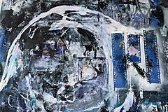 Obrazy - °spomienky° /abstraktná maľba A2/ - 10271186_