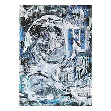 Obrazy - °spomienky° /abstraktná maľba A2/ - 10271180_