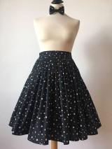 Sukne - sukňa a motýlik On a Ona - s hviezdičkami - 10269770_