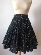Sukne - sukňa a motýlik On a Ona - s hviezdičkami - 10269771_