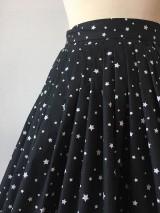 Sukne - sukňa a motýlik On a Ona - s hviezdičkami - 10269773_