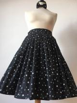 Sukne - sukňa a motýlik On a Ona - s hviezdičkami - 10269774_