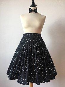 Sukne - sukňa a motýlik On a Ona - s hviezdičkami - 10269772_