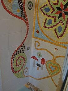 Dekorácie - keramicka mozaika - 10270114_