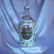 Iné - Darčeková fľaša Moja orechovka - 10270404_