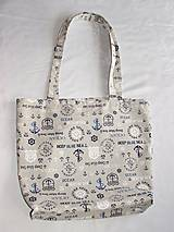 Veľké tašky - Taška námornícka - 10270081_