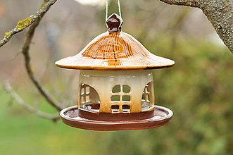 Pre zvieratká - Kŕmidlo z keramiky - 10271203_