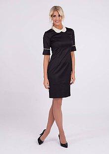 Šaty - Dámske šaty zdobené perličkami - 10269831_