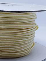 Šutaška - 100% nylon - 1m (Banánová OC113)