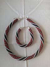 Sady šperkov - Korálkový set - 10270606_