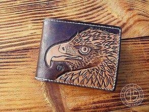 Peňaženky - Kožená peňaženka - 10272685_