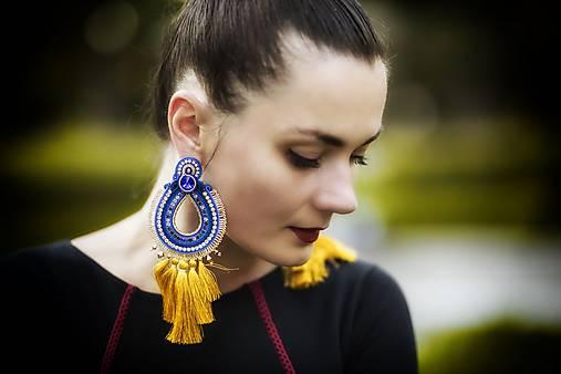 Náušnice - Náušnice Chromantic (Modré) - 10273848_