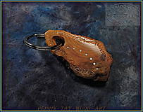 Kľúčenky - 44. Dřevěná KLÍČENKA  - HLOH z Háje - 10274007_