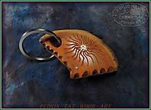 Kľúčenky - 45. Dřevěná KLÍČENKA  - HLOH z Háje - 10274053_