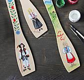 Pomôcky - Maľované varešky s postavičkou - na želanie - 10273831_