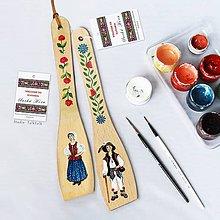 Pomôcky - Maľované varešky s postavičkou - Suchá Hora - 10273740_