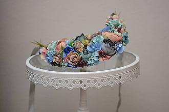 Náhrdelníky - Kvetinový náhrdelník - 10271533_