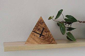 Hodiny - hodina trojuholník - 10272673_
