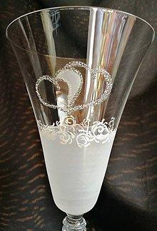 Nádoby - Svadobné poháre vínko - 10272015_
