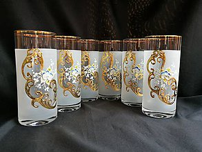 Nádoby - Súprava pohárov vzor č.44 - 10272502_