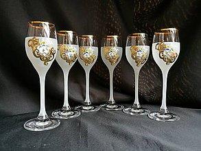 Nádoby - Súprava pohárov vzor č. 44 - 10272512_