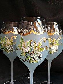 Nádoby - Súprava pohárov pre milovníkov vínka - 10272598_