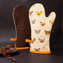 Úžitkový textil - Chňapka - Pipky - 10273815_